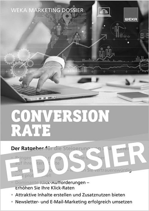 Zum Marketing-Dossier Conversionrate