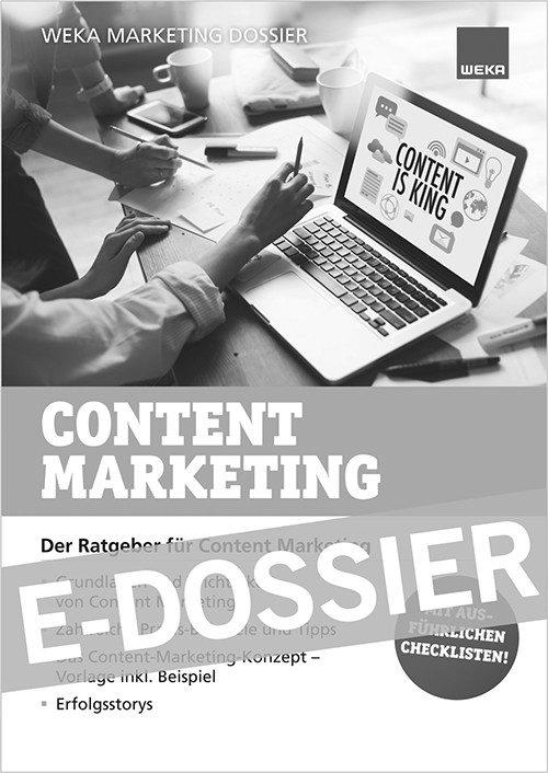 Zum Marketing-Dossier Content-Marketing